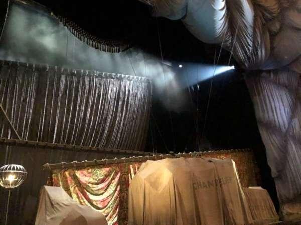 Majestic Theatre, secção: Orchestra L, fila: A, lugar: 3