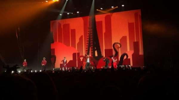 Coca-Cola Coliseum, secção: right floor, fila: 15, lugar: 40