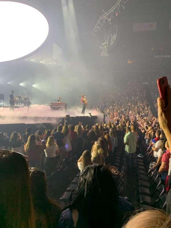 Nationwide Arena, secção: 116, fila: C, lugar: 7