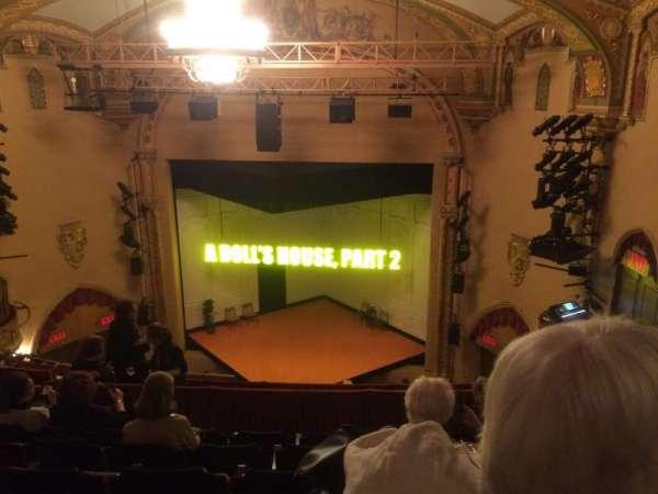 John Golden Theatre, secção: Rear Mezz, fila: F, lugar: 114