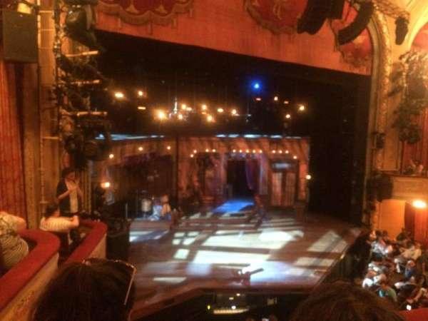 Bernard B. Jacobs Theatre, secção: Mezzanine L, fila: B, lugar: 21
