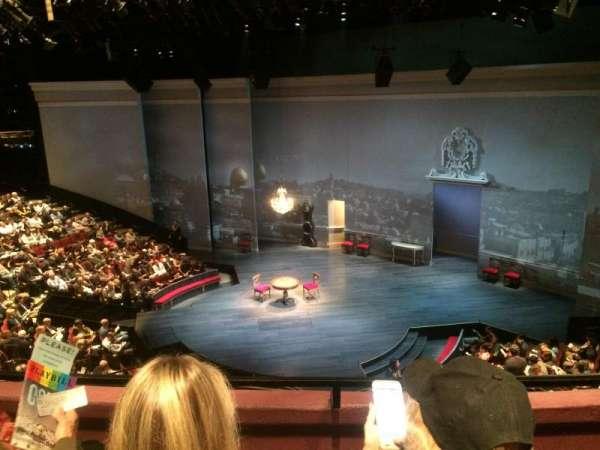 Vivian Beaumont Theater, secção: Loge C, fila: B, lugar: 412