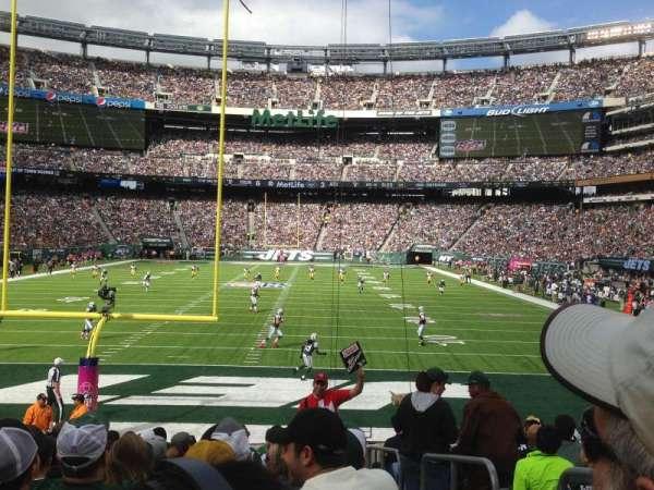 MetLife Stadium, secção: 126, fila: 14, lugar: Aisle