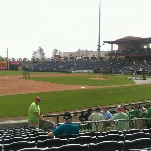 BayCare Ballpark, secção: 118, fila: 12, lugar: 9