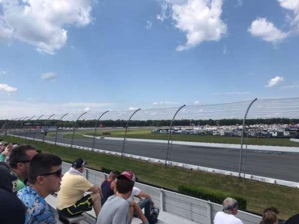 Pocono Raceway, secção: 140, fila: 9, lugar: 20