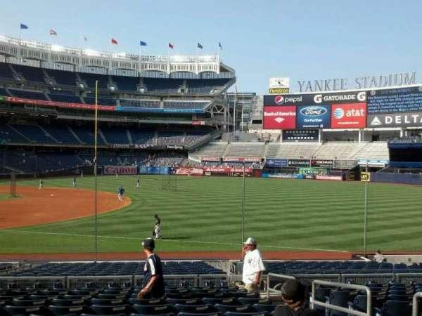 Yankee Stadium, secção: 113, fila: 23, lugar: 4
