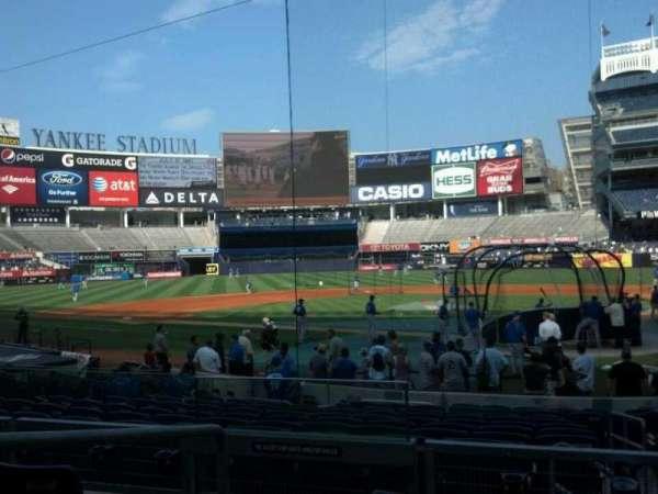 Yankee Stadium, secção: 121a, fila: 16, lugar: 10