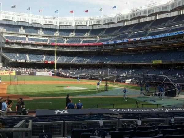Yankee Stadium, secção: 124, fila: 18, lugar: 18