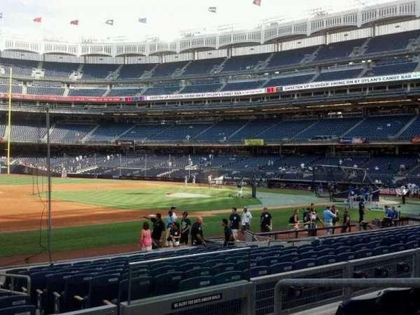 Yankee Stadium, secção: 127a, fila: 15, lugar: 4