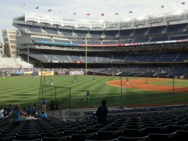 Yankee Stadium, secção: 129, fila: 23, lugar: 15