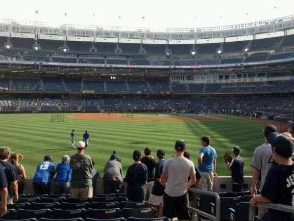 Yankee Stadium, secção: 135, fila: 19, lugar: 2