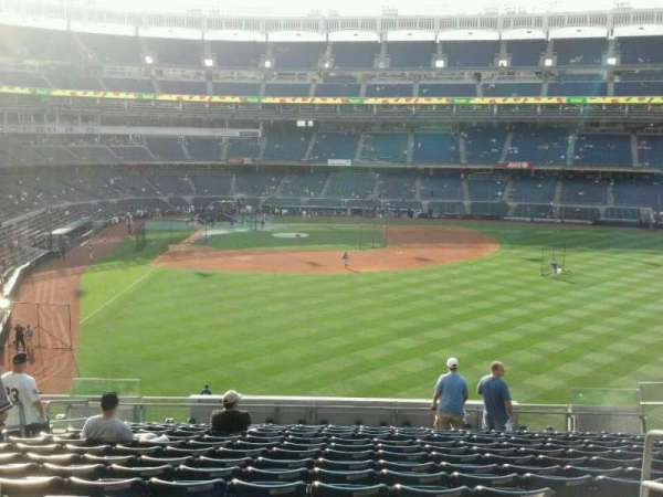 Yankee Stadium, secção: 205, fila: 16, lugar: 21