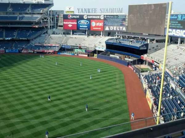Yankee Stadium, secção: 310, fila: 5, lugar: 14