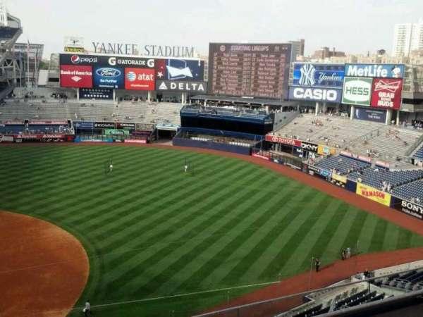 Yankee Stadium, secção: 314, fila: 4, lugar: 25