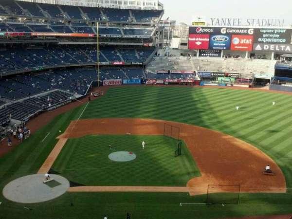 Yankee Stadium, secção: 316, fila: 2, lugar: 19