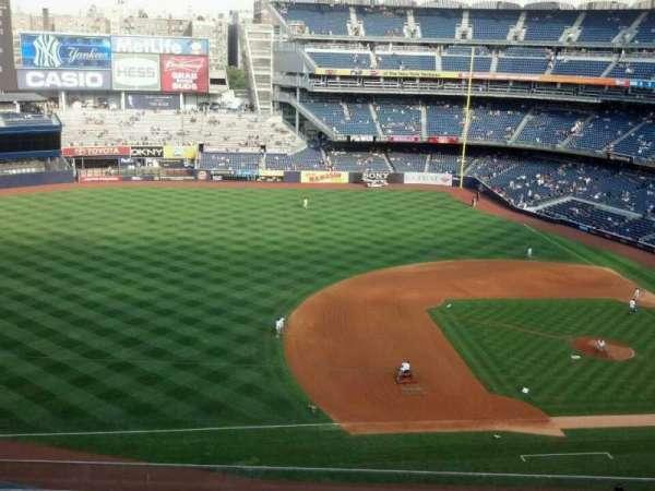 Yankee Stadium, secção: 326, fila: 6, lugar: 20