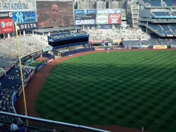 Yankee Stadium, secção: 429, fila: 2, lugar: 11