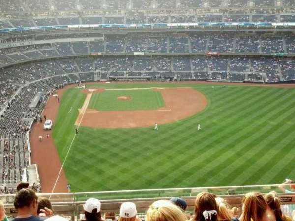 Yankee Stadium, secção: 406, fila: 6, lugar: 5