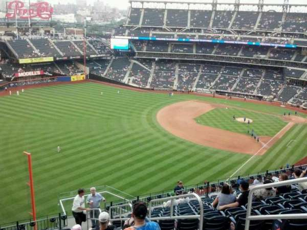 Citi Field, secção: 529, fila: 13, lugar: 4