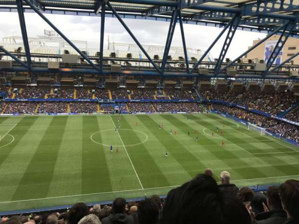 Stamford Bridge, secção: West Stand Upper - Block 5, fila: 17, lugar: 134