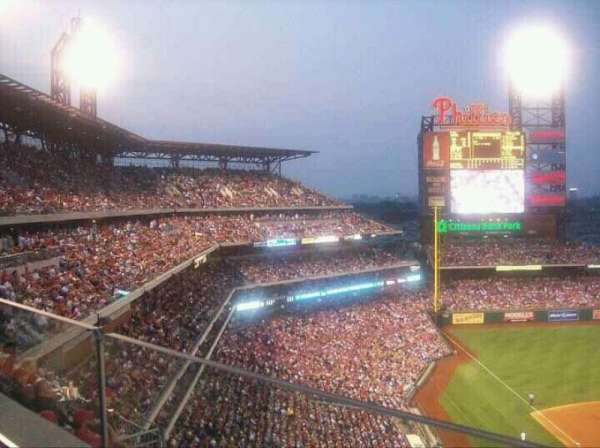 Citizens Bank Park, secção: 420, fila: 1, lugar: 13