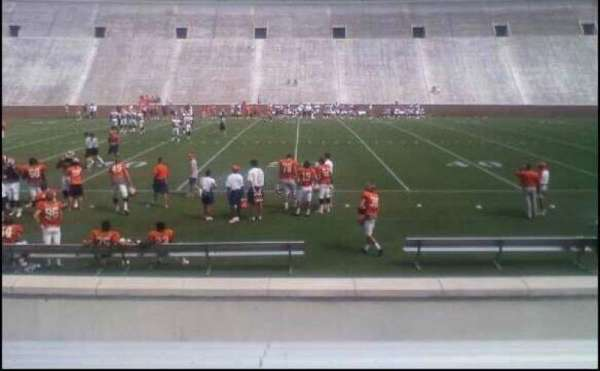 Memorial Stadium, Clemson, secção: E, fila: L, lugar: 21,23,25,27