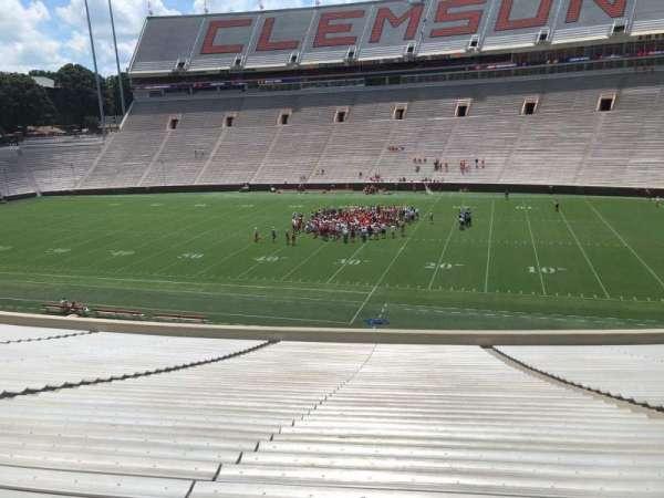 Memorial Stadium, Clemson, secção: R, fila: SS, lugar: 11,13,15,17,19,21