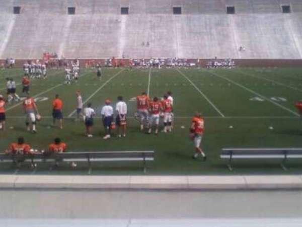 Memorial Stadium, Clemson, secção: F, fila: I, lugar: 17,19,21,23,25,27