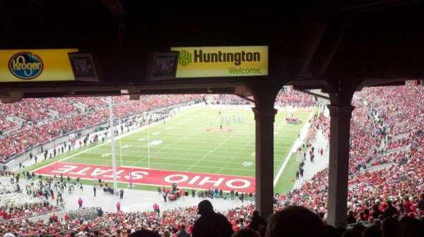 Ohio Stadium, secção: 3B, fila: 16, lugar: 17
