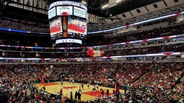 United Center, secção: 119, fila: 17, lugar: 19