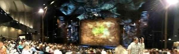 Gershwin Theatre, secção: Orchestra C, fila: L, lugar: 118
