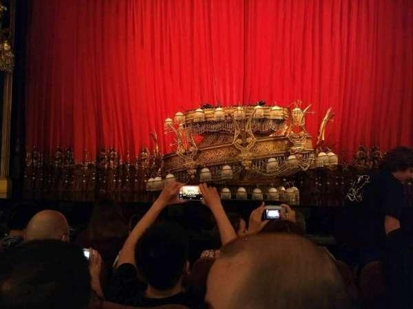 Majestic Theatre, secção: Orchestra C, fila: c, lugar: 107