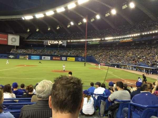 Olympic Stadium, Montreal, secção: 108, fila: NN, lugar: 1