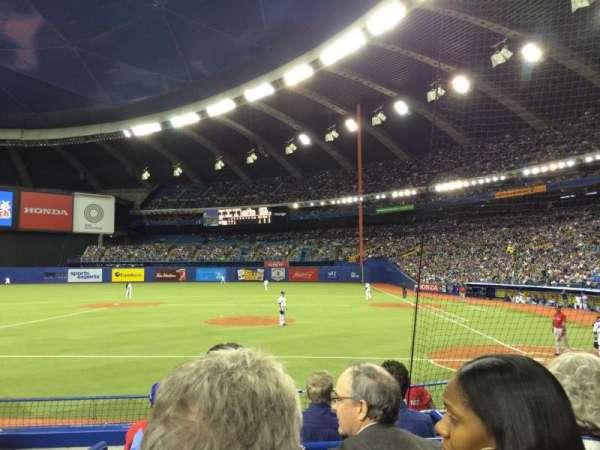 Olympic Stadium, Montreal, secção: 106, fila: KK, lugar: 10