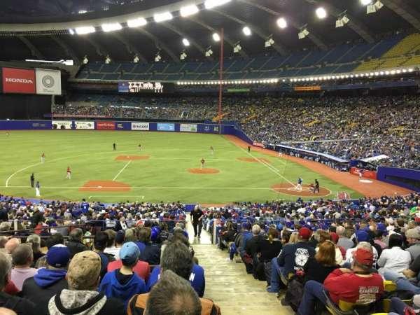 Olympic Stadium, Montreal, secção: 110, fila: T, lugar: 12