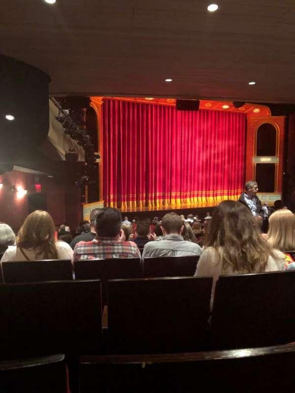 Marquis Theatre, secção: Orchestra L, fila: V, lugar: 19