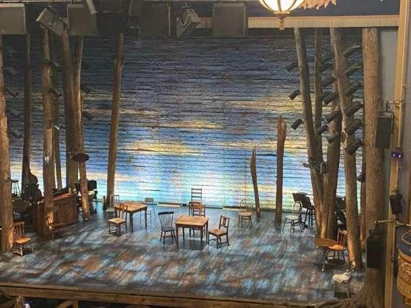 Gerald Schoenfeld Theatre, secção: Mezzanine R, fila: J, lugar: 2