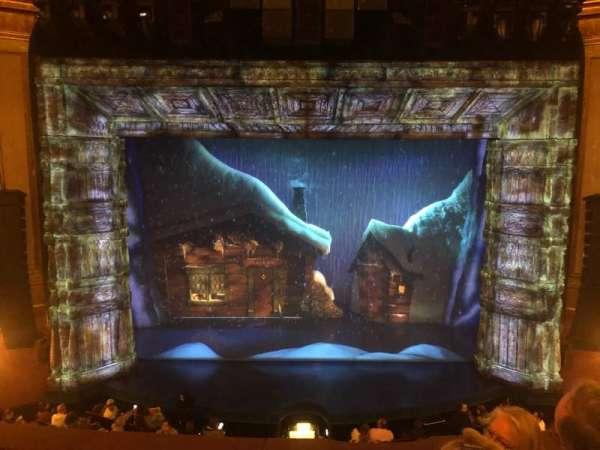 St. James Theatre, secção: Mezzanine C, fila: F, lugar: 110