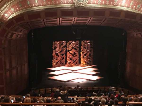 Benedum Center, secção: Second Tier LC, fila: Q, lugar: 23