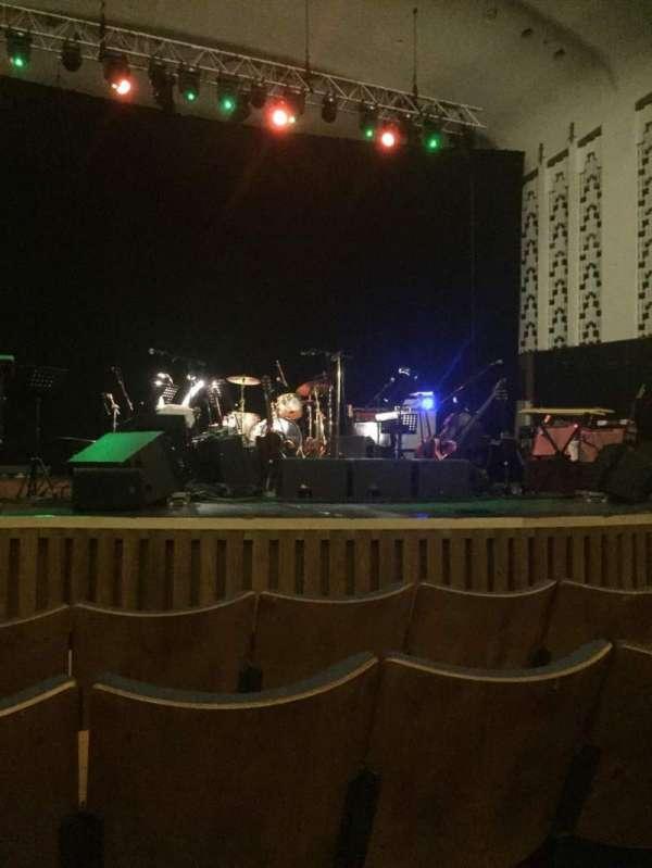 Liverpool Philharmonic Hall, fila: E, lugar: 26