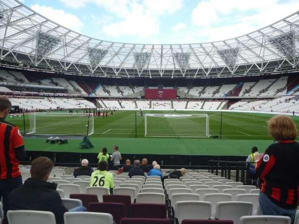 London Stadium, secção: 120, fila: 14, lugar: 45