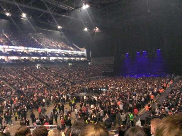 The O2 Arena, secção: 108, fila: U, lugar: 250