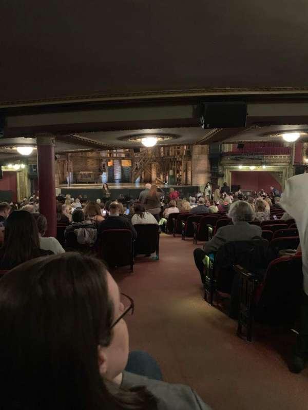 CIBC Theatre, secção: Orchestra L, fila: ZZ, lugar: 3