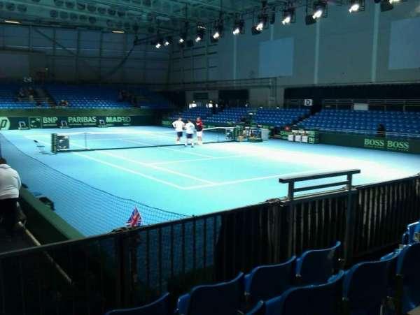 Bolton Arena, secção: a, fila: d, lugar: 58