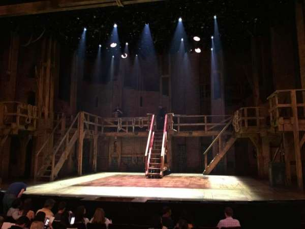 Richard Rodgers Theatre, secção: orchestra c, fila: j, lugar: 101