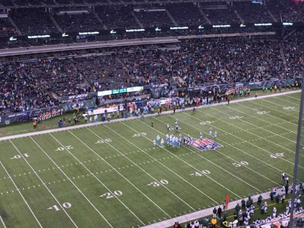 MetLife Stadium, secção: 318, fila: 12, lugar: 10
