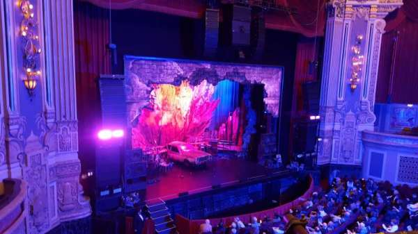 James M. Nederlander Theatre, secção: LOGE L, fila: A, lugar: 357