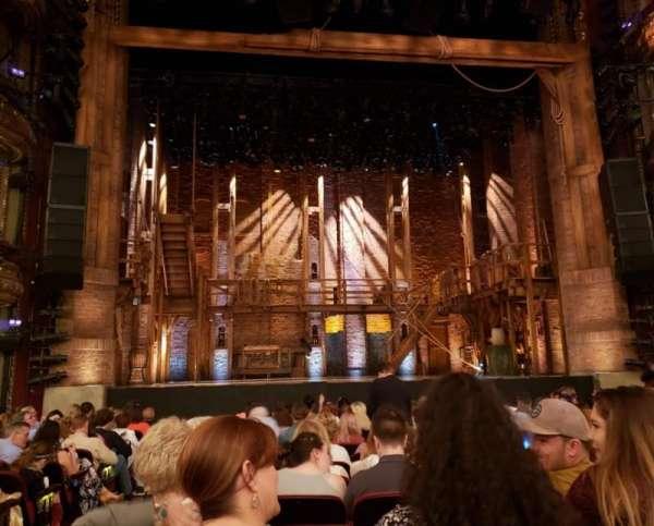 CIBC Theatre, secção: Orchestra C, fila: P, lugar: 102