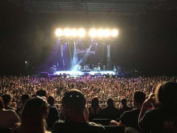 First Direct Arena, secção: 105, fila: 4