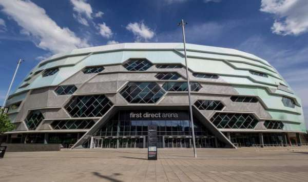 First Direct Arena, secção: Exterior